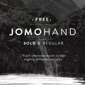 jomohand font