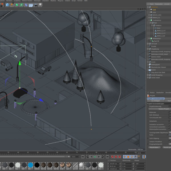 Screenshot Cinema 4D