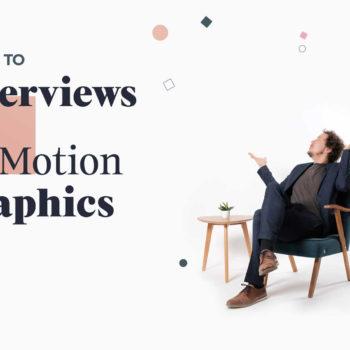 Interview und Motion Design gehören zusammen Titelbild