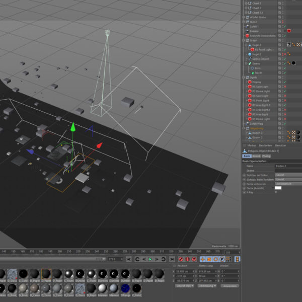 Moonfare Screencast BTS Cinema4D