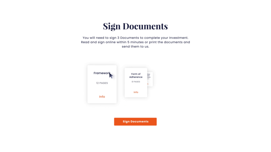 Moonfare Screencast Sign Documents