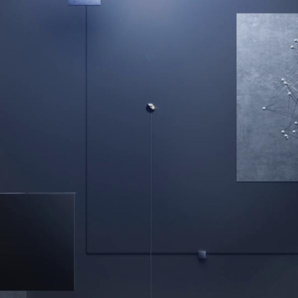 Moonfare Screencast intro abstract