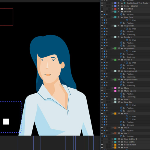 Character Face Animation