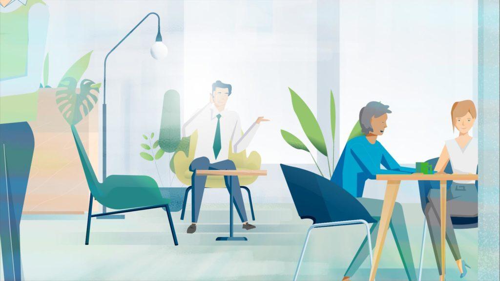 Work Café Room