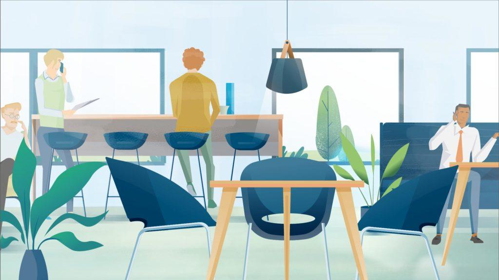 Work Café Move
