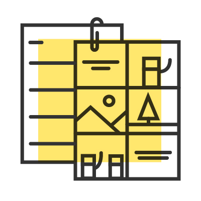 Icon Produktion Erklärvideo Konzept