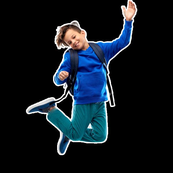 Asset Echt Kuh-l boy jumps